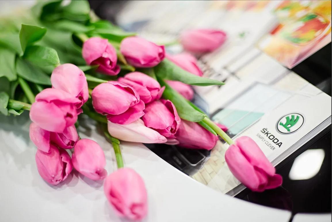 В ТРЦ  «Аэропарк» прошел «Цветочный Патруль»