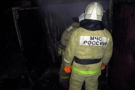 Дачный домик горел этой ночью под Брянском