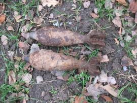 В Брянской области обезвредили очередные находки времен Великой Отечественной