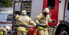Недострой сгорел в Трубчевском районе