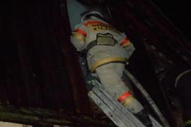 При пожаре в Кокоревке есть пострадавшие