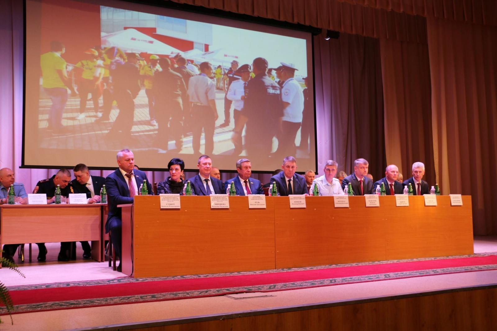 О результатах работы полиции региона рассказали в Брянске
