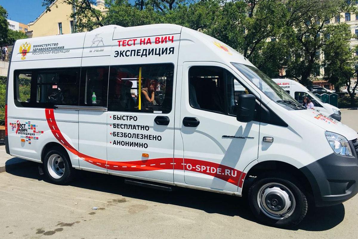 Тестирование на ВИЧ-инфекцию пройдет в 5 городах области