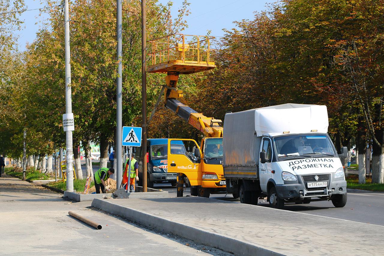 На улице Дзержинского в Брянске обещают 6 светофоров после ремонта