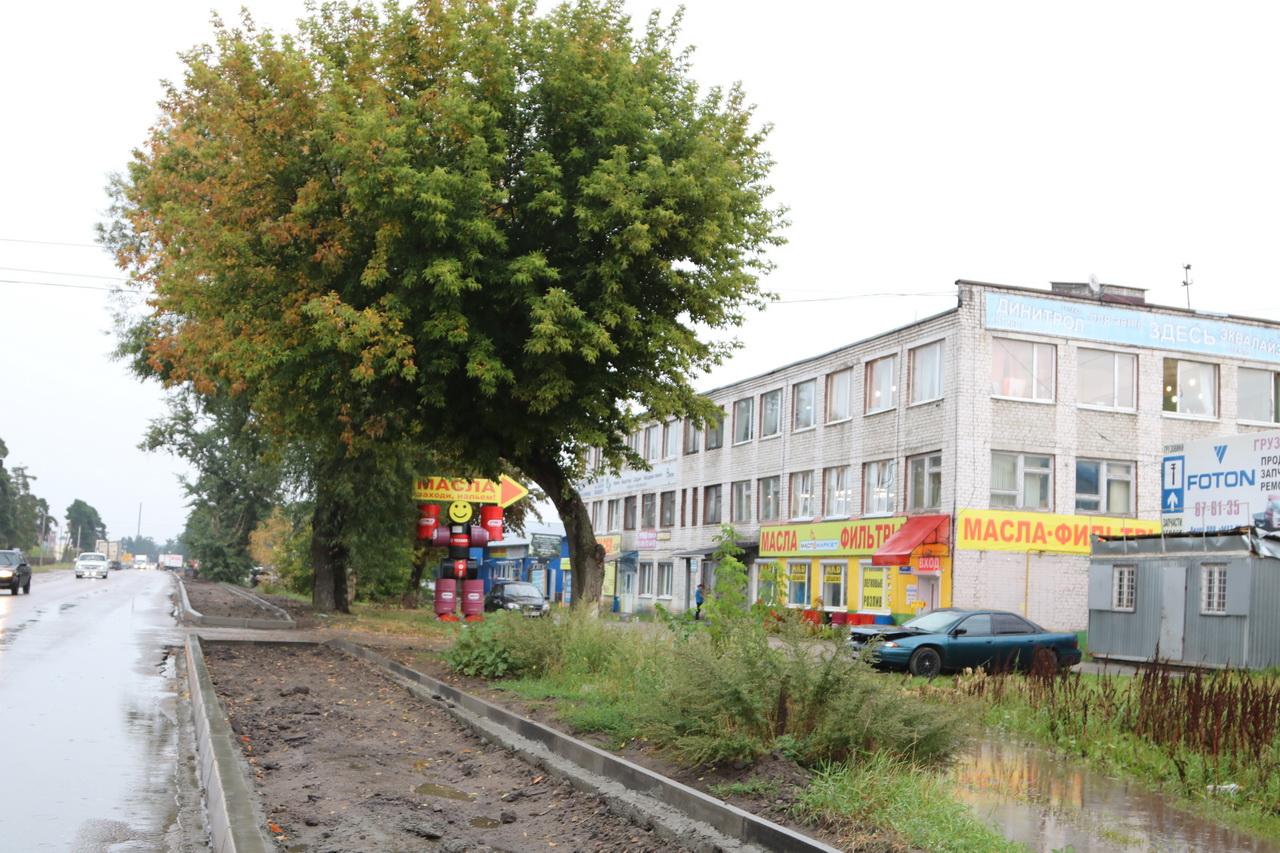 Переулок Московский начали ремонтировать в Брянске
