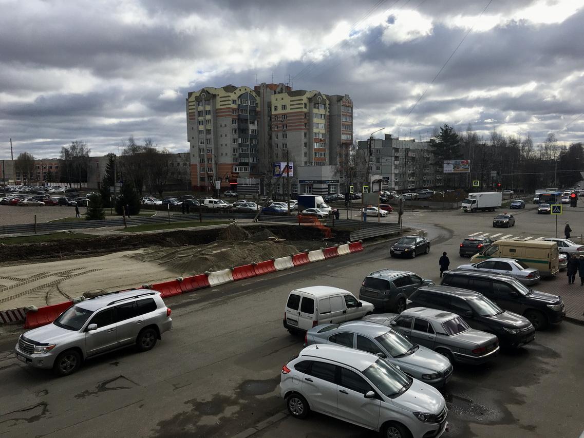 В Брянске от улиц Крахмалева до Объездной сделали новую ливневку