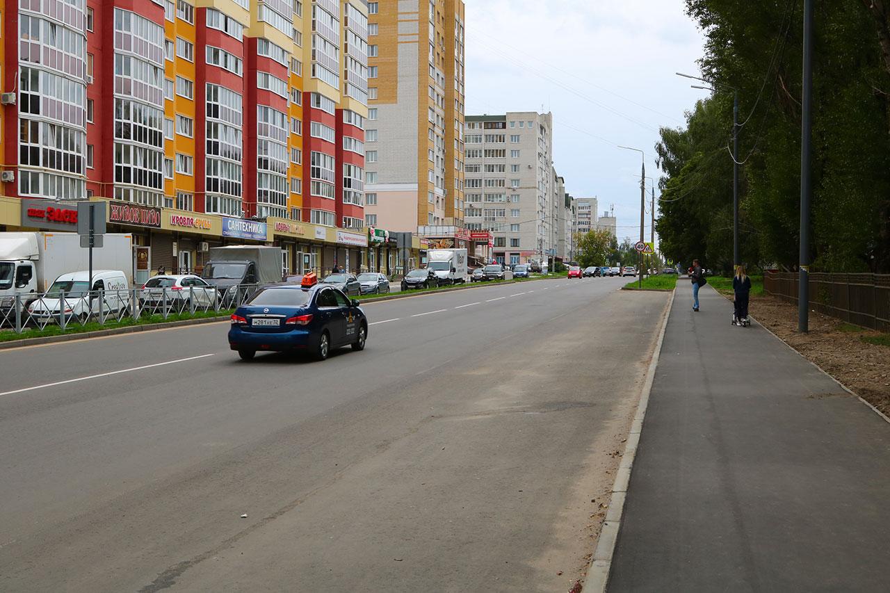 В Брянске не приняли улицу Костычева после ремонта