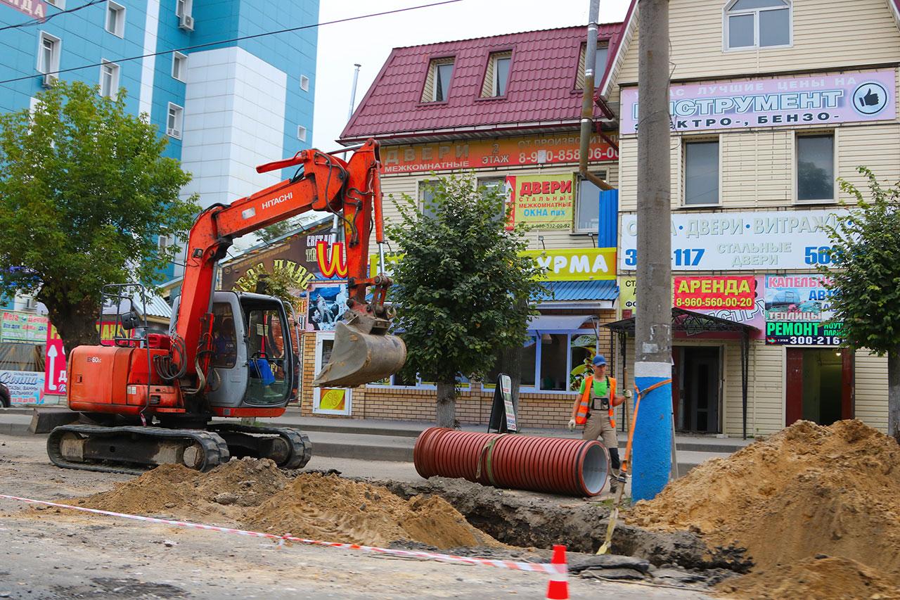 В Брянске завершается ремонт и расширение улицы  Литейной