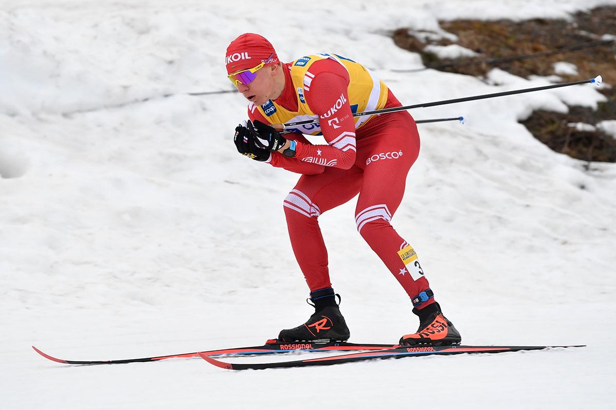 Большунов оказался вторым вгонке преследования «Ски Тура»