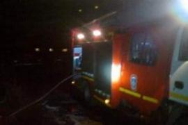 Частный дом тушили брянские пожарные в ночь на выходные