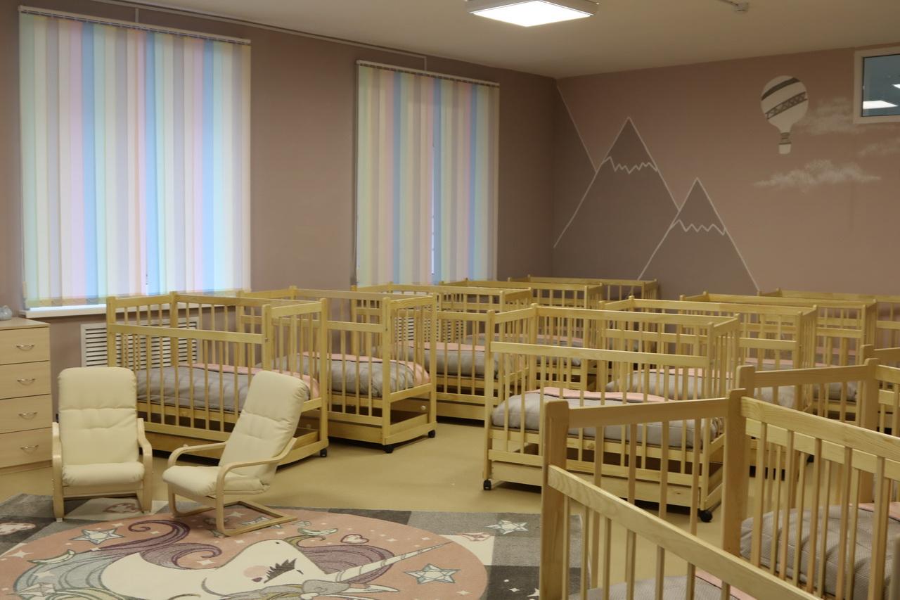 Шесть новых ясельных пристроек и детский сад готовы открыть двери брянским малышам