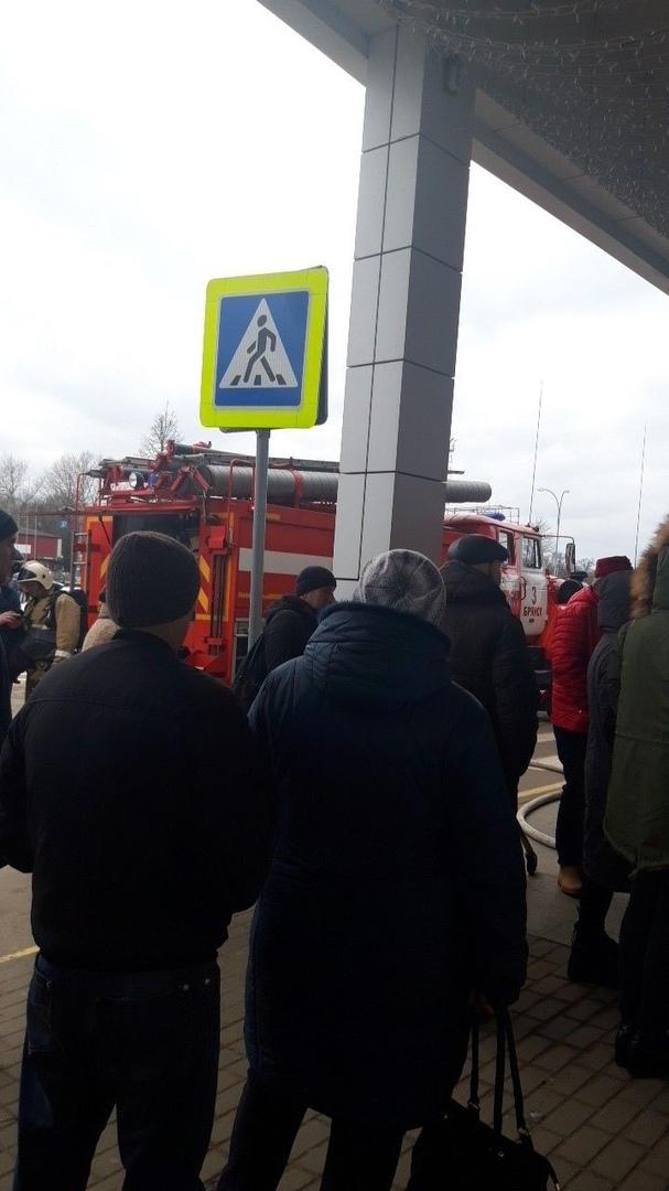 В Брянске эвакуировали «Европу»