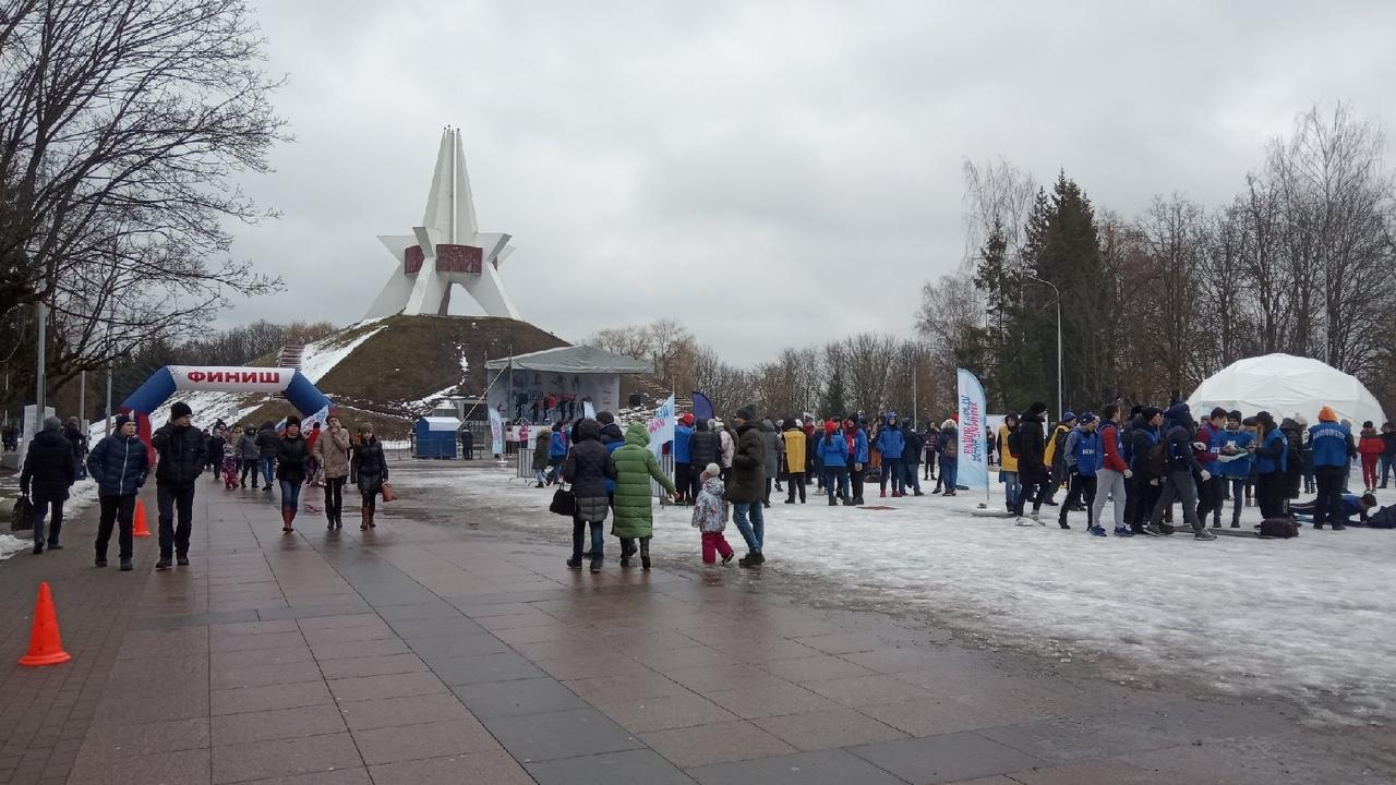 В Брянске состоялся «День зимних видов спорта»