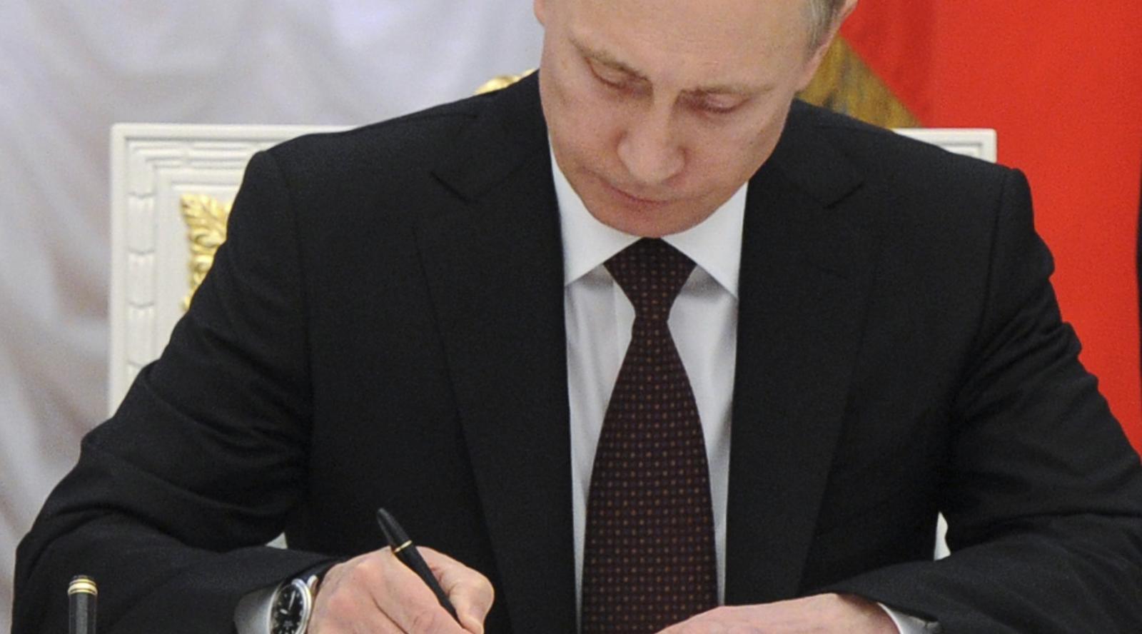 Путин подписал новый «майский указ»