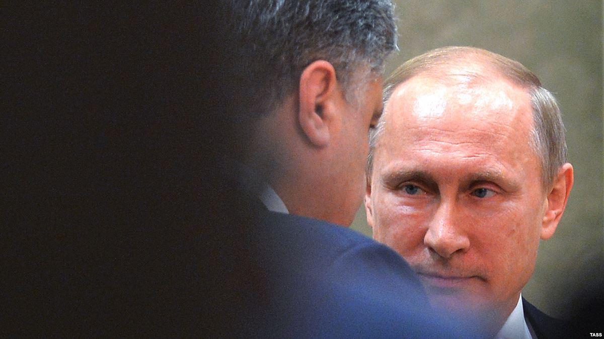 Состоялся телефонный разговор Путина с Порошенко