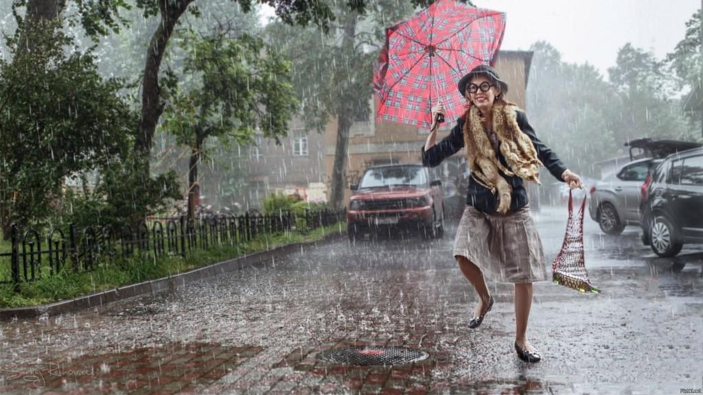 Во вторник в Брянске ожидается дождь с грозой