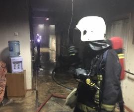 Страшный пожар в доме-интернате для престарелых под Брянском унес жизнь человека