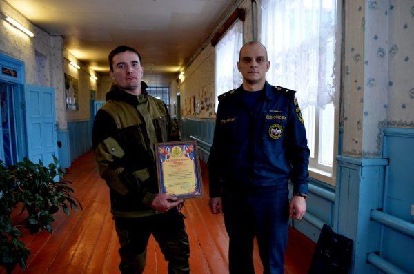 Житель Климовского района вытащил односельчанина из реки Снов