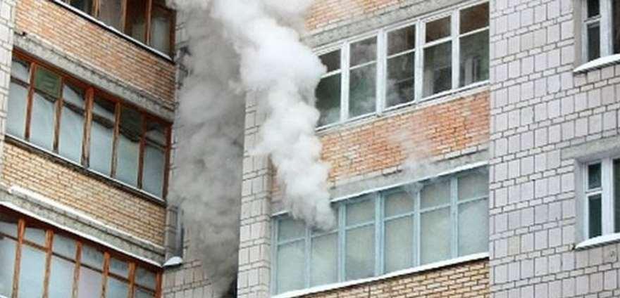 В Брянске горела квартира