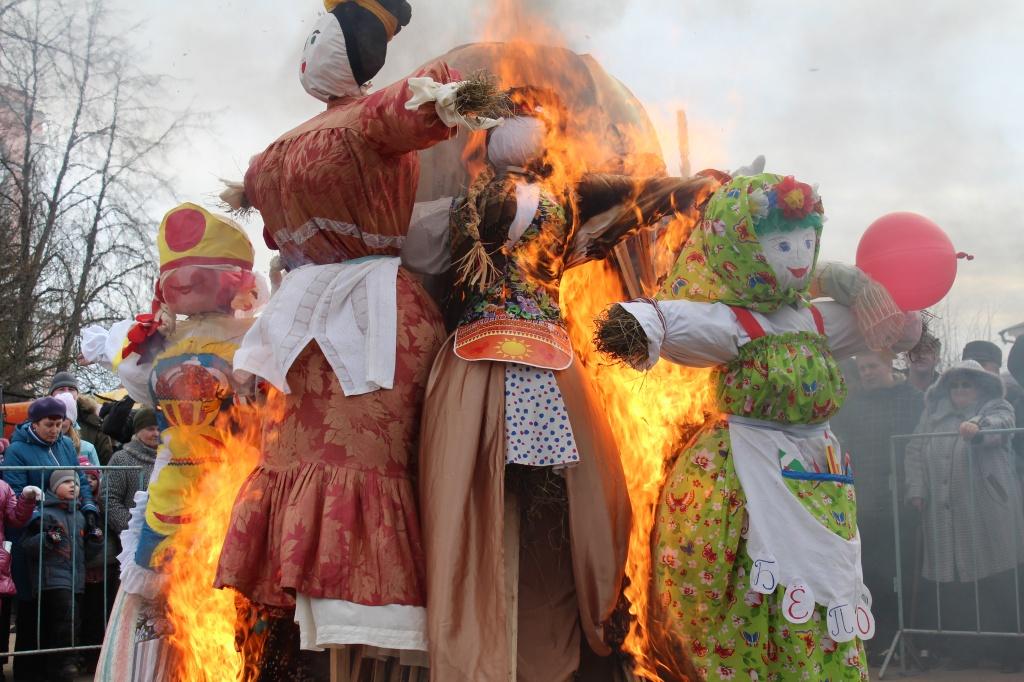 На масленицу брянцам обещают традиционные забавы в Круглом сквере
