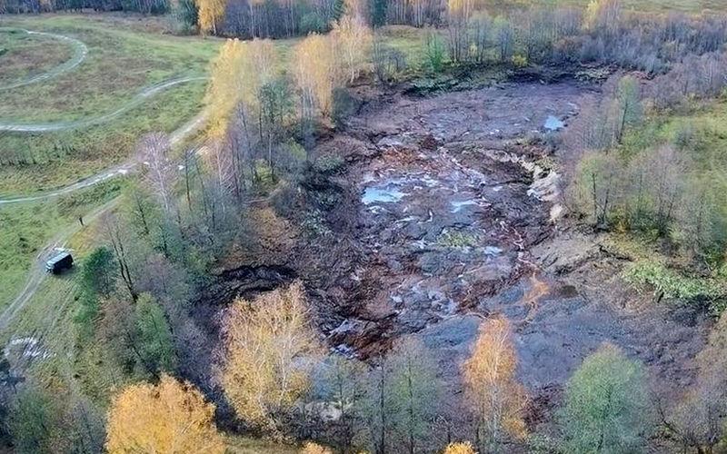 ВоВладимирской области озеро вместе срыбой утекло под землю