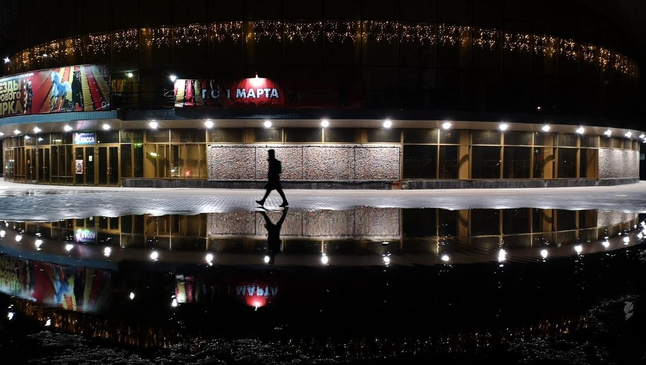 В Брянске сняли на фото живописное озеро у цирка