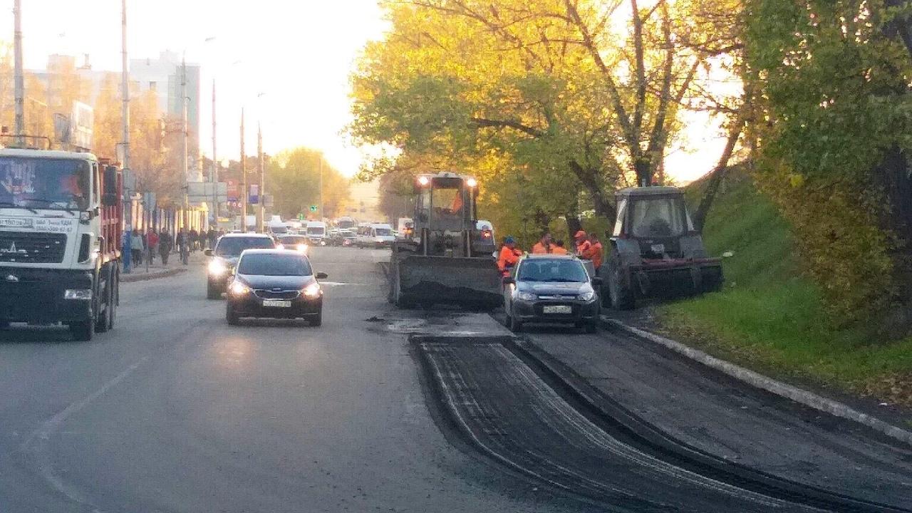 Брянцы не перестают удивляться ремонту дорог
