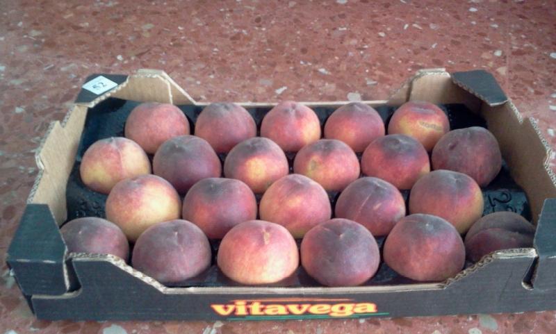 Зараженные персики не пустили через Брянск