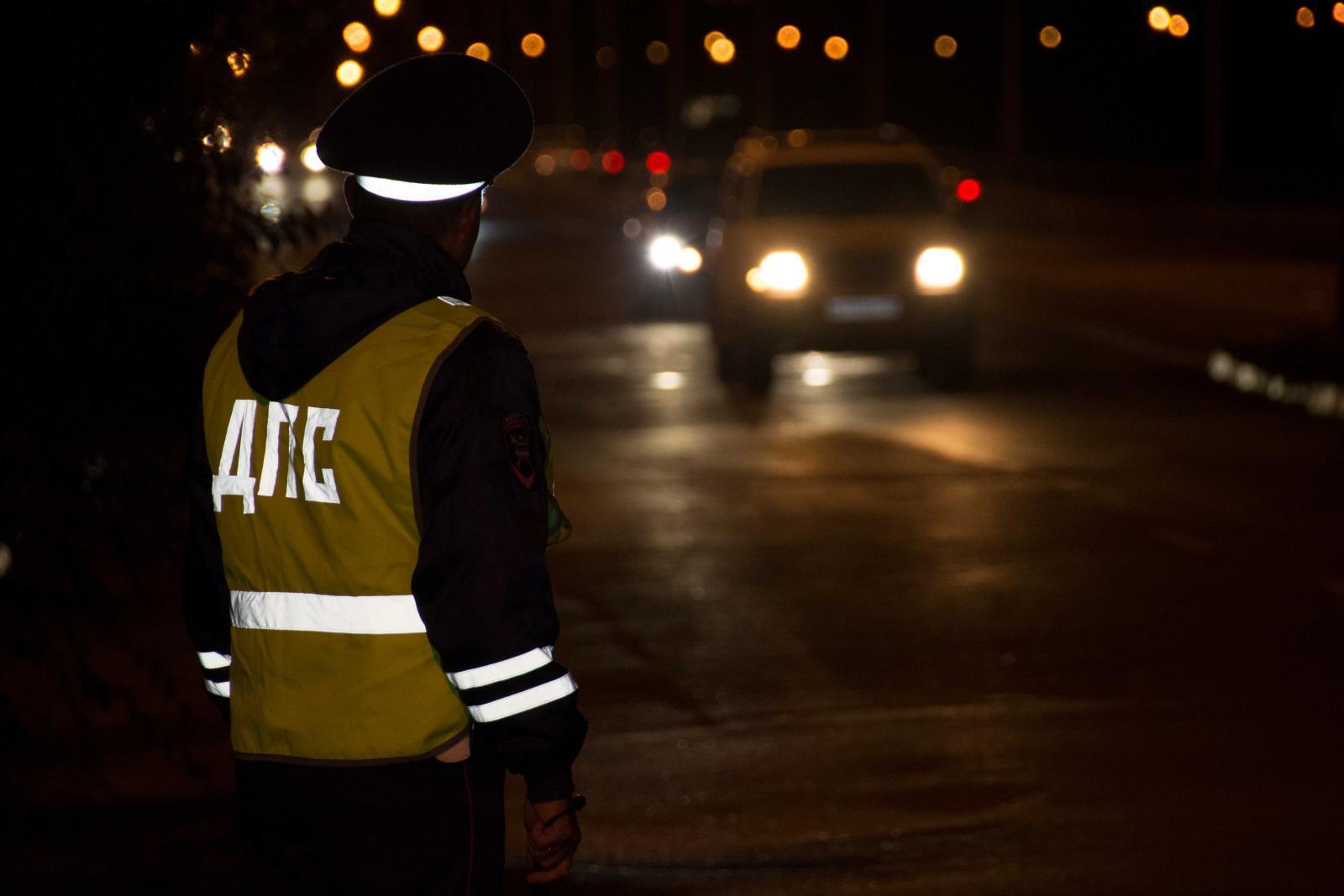 Этой ночью брянских водителей тоже проверят