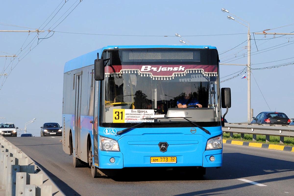 В Брянске изменилось расписание движения автобуса №31