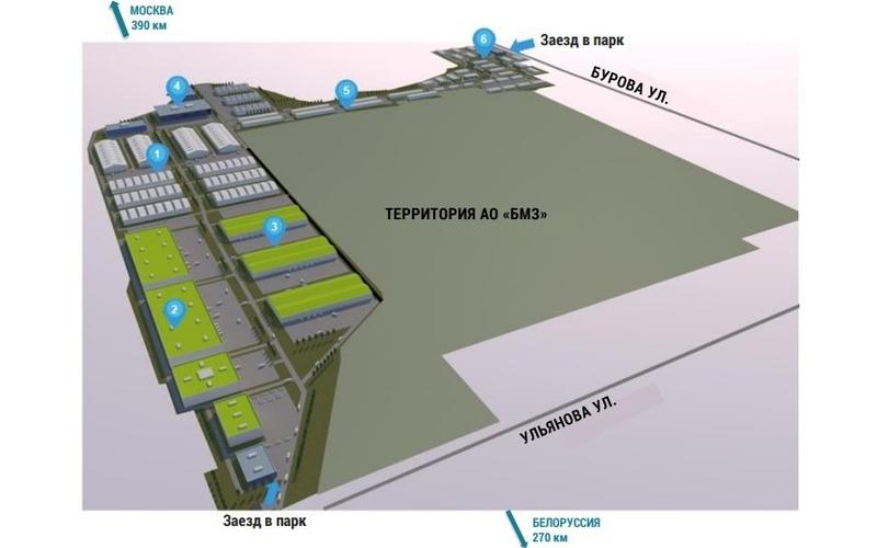 Частный индустриальный парк обещают Брянску к 2022 году