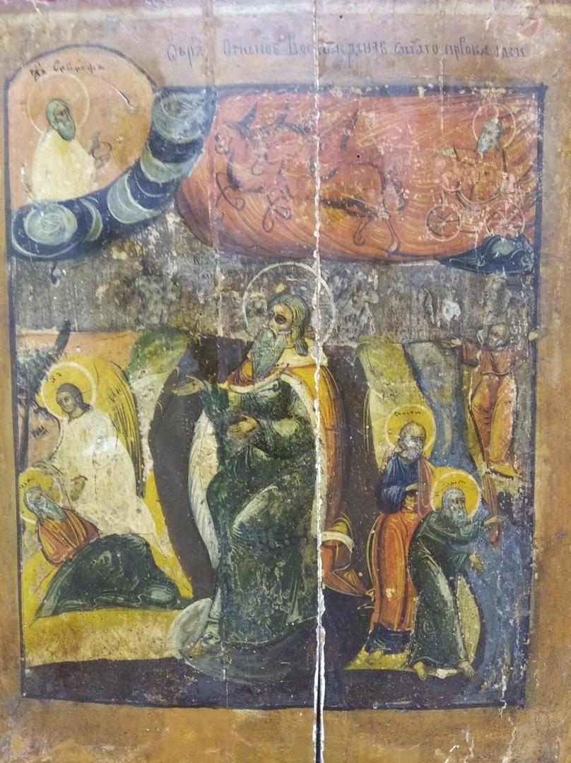 Икона пророка Илии замироточила в Брянском краеведческом музее