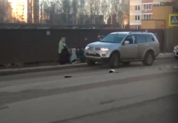 На Горбатова сбили пешеходов