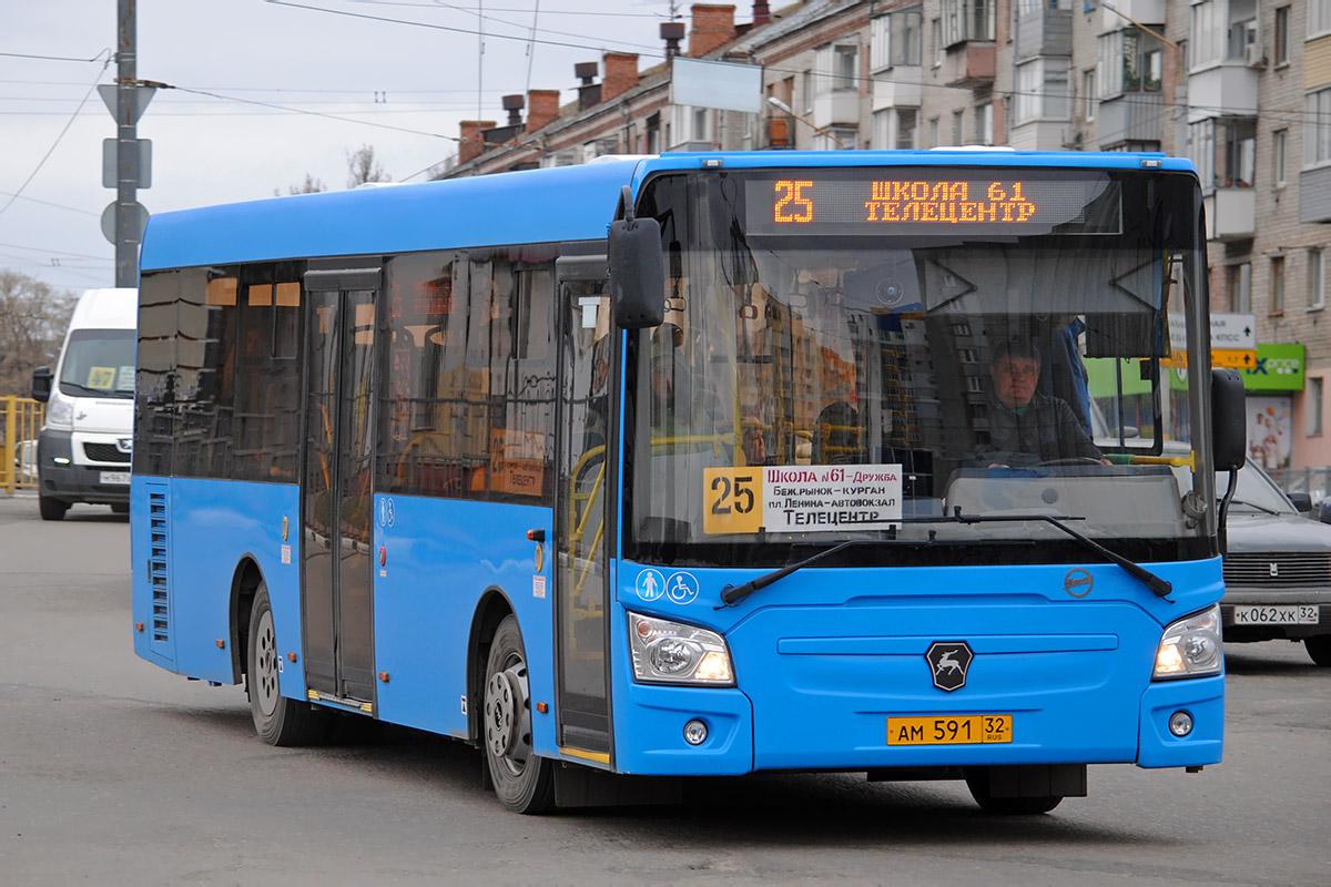 В Брянске продлили время работы маршрута № 25 по выходным дням
