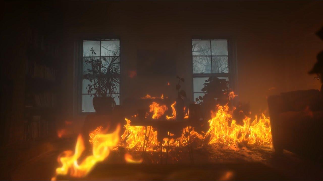 В Мглинском районе воскресным утром полыхал дом