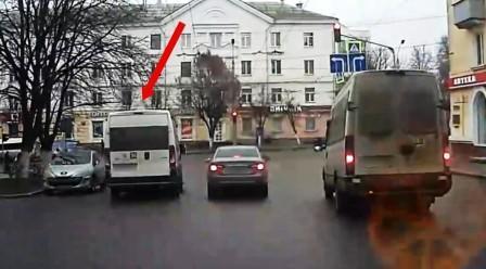 Брянского водителя оштрафовали по видео в соцсети
