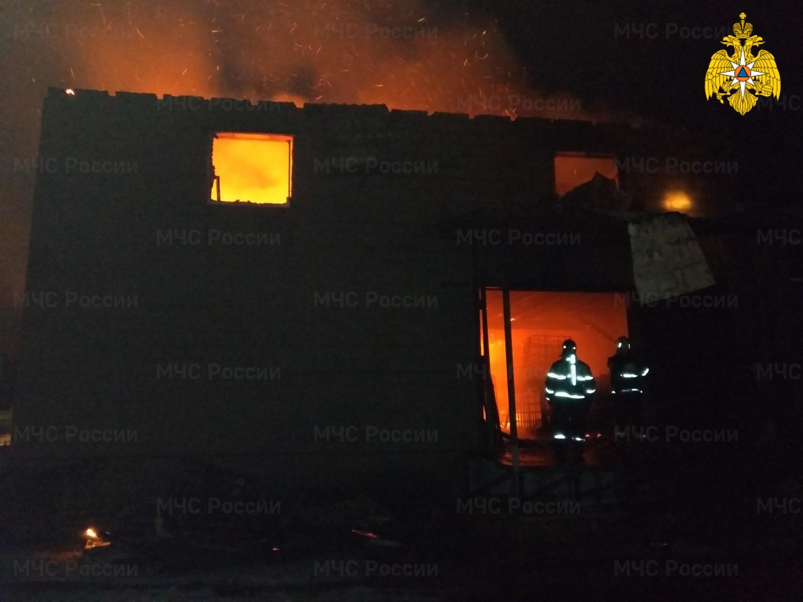 К девяти вечера пожар под Брянском локализовали