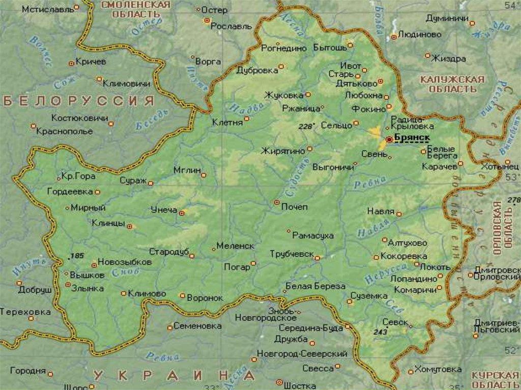 Глава ЛДПР захотел расширить границы Брянской области