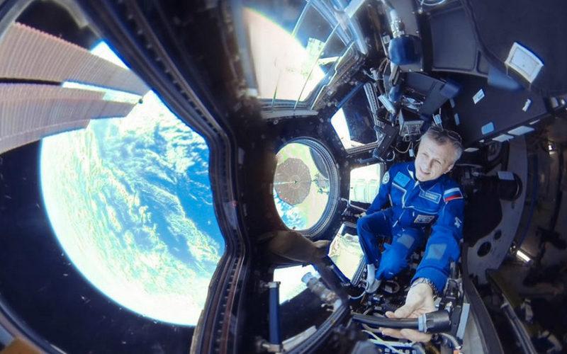 Кюбилею первого спутника Россия показала первое панорамное видео изоткрытого космоса