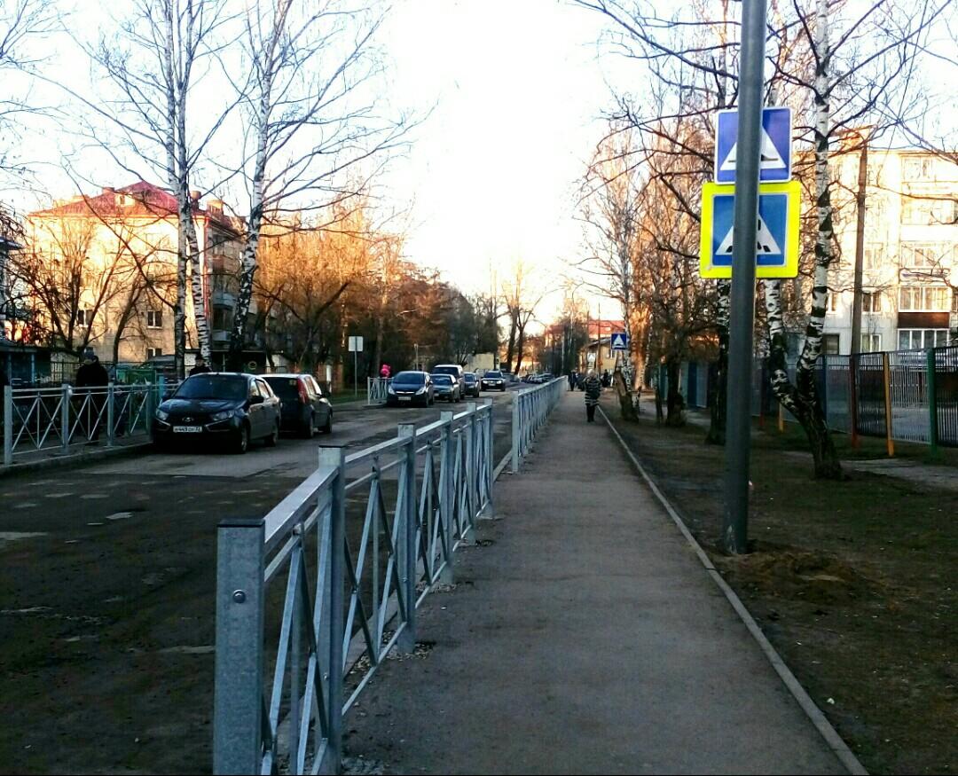 В Брянске дорожные знаки закрыли столбами