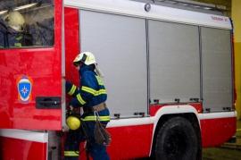 В Локте Брянской области сегодня загорелся рентген-кабинет