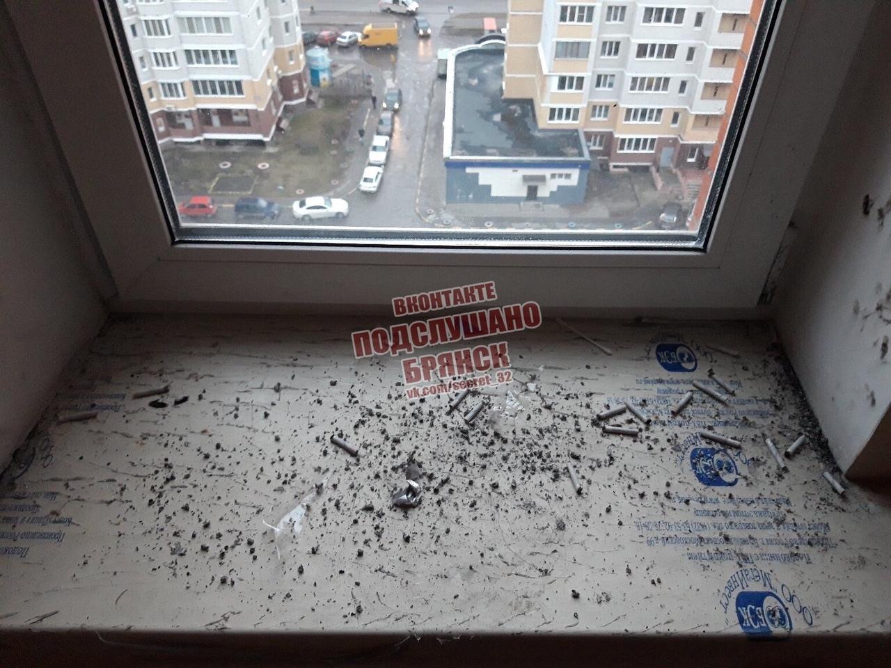 Брянцы загадили подъезд в новой многоэтажке